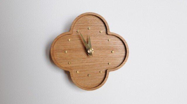 ならの小さな壁掛け時計の画像1枚目
