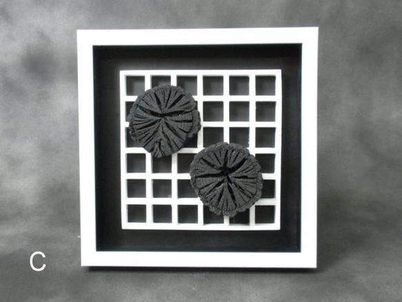 アートフレーム 菊花炭の画像1枚目