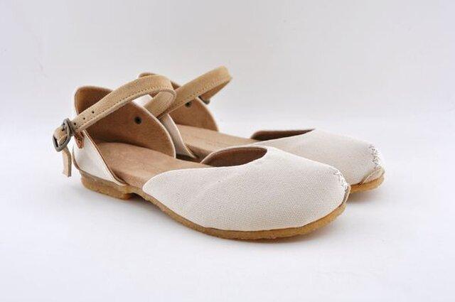 【受注製作】ROUND sandalsの画像1枚目