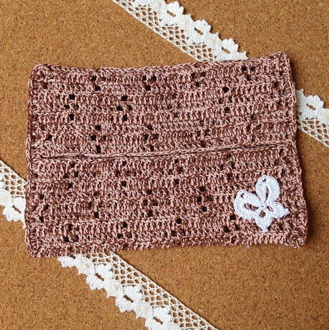 かぎ針編みのティッシュカバーの画像1枚目