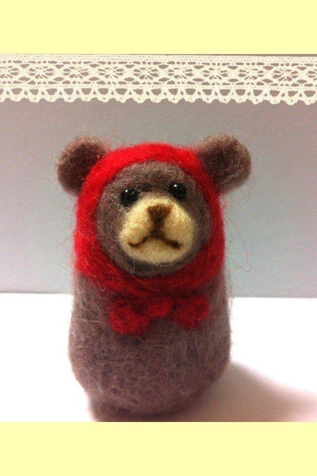 クマ頭巾さんの画像1枚目