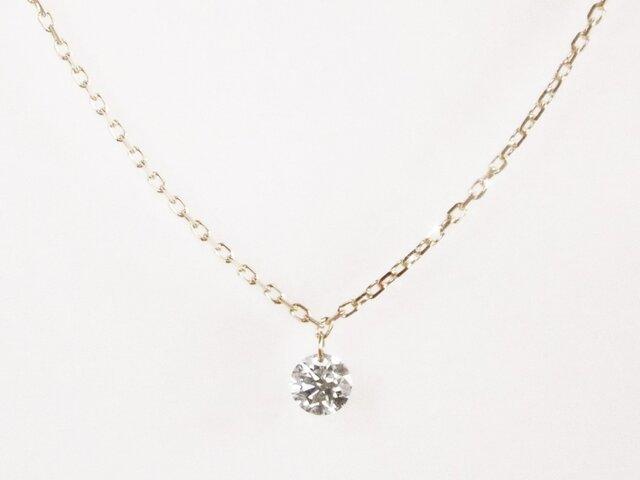 K10 Naked Diamond Necklaceの画像1枚目