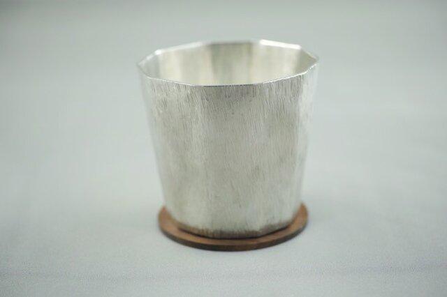 錫製 コップ(十面)の画像1枚目