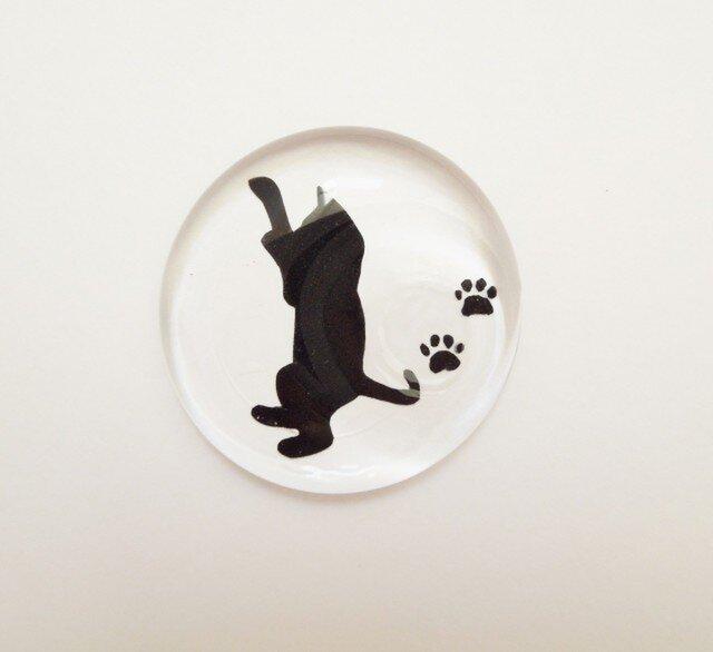 シルエット猫 箸置き - タイプ E -の画像1枚目
