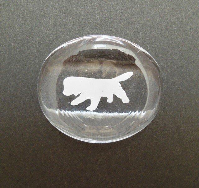 シルエット犬 箸置き - タイプ A -の画像1枚目