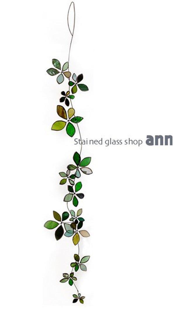ステンドグラス グリーンG150322G2の画像1枚目