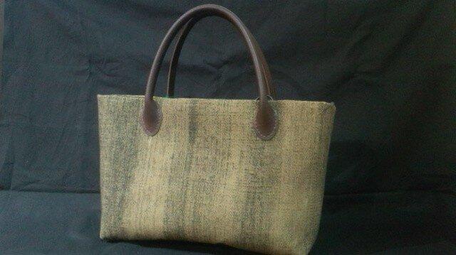 木綿のバッグの画像1枚目