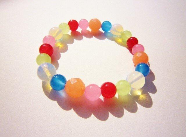 Pastel Rainbow ブレスレットの画像1枚目