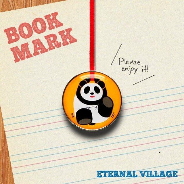 「楽しく遊ぶパンダのクリップ型ブックマーク」no.193の画像1枚目