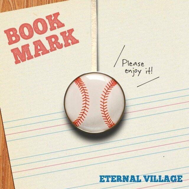 BOOKMARK 021「野球ボール」の画像1枚目
