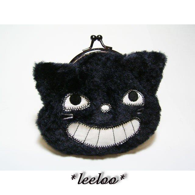 ★黒猫ヤローのガマグチ★の画像1枚目