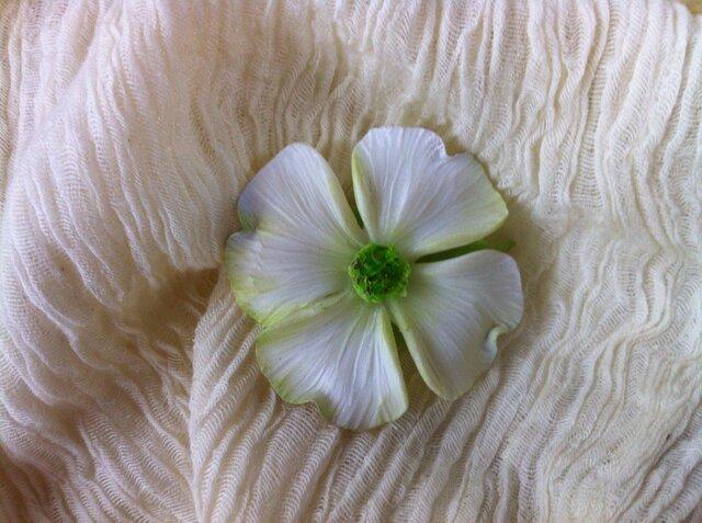 花水木 ブローチの画像1枚目