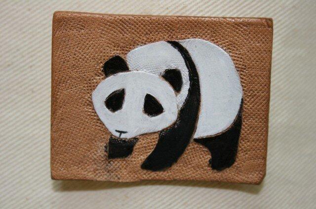 ラクガキバッジ パンダの画像1枚目