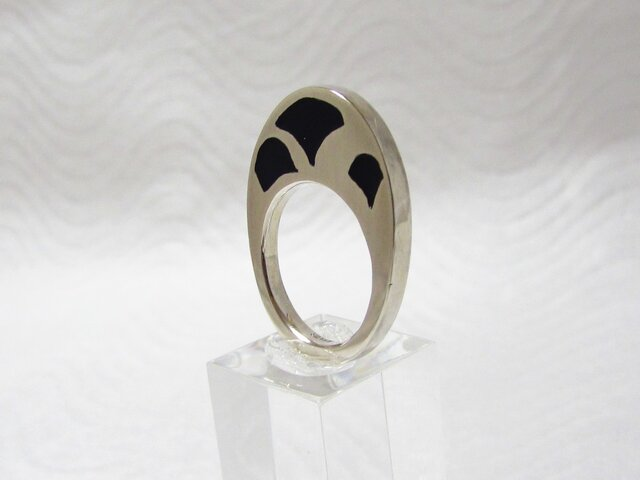 銀と樹脂のリング Ⅾの画像1枚目