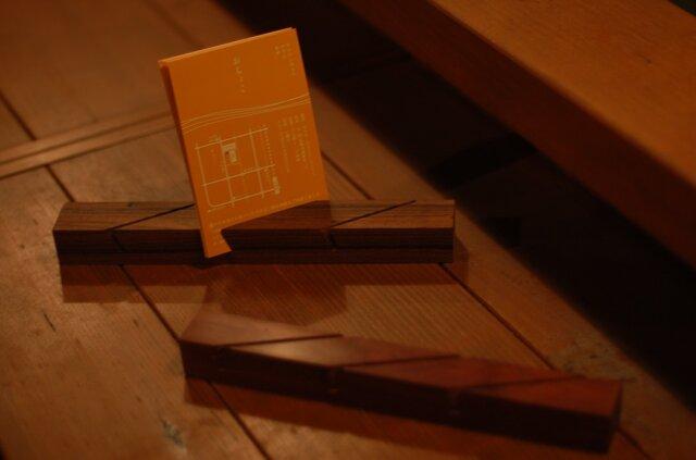 3連ポストカードスタンドの画像1枚目
