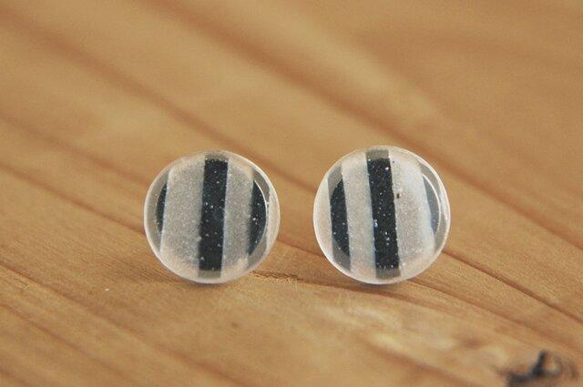 再生産 stripe (2) : ピアスの画像1枚目