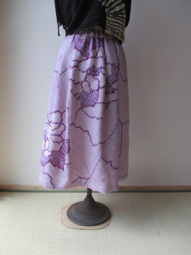 絞りのスカート 一点品の画像1枚目
