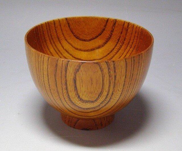 MATU工房 オリジナル欅拭き漆椀の画像1枚目