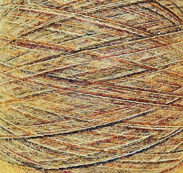 モヘヤ・ラメ糸 ミックスカラー 500 gの画像1枚目