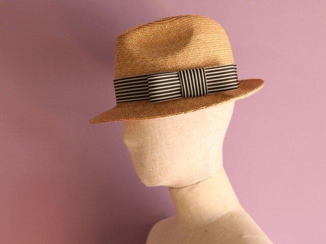 中折れ麦わら帽子 Jean ジーンの画像1枚目