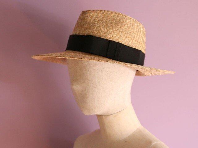 つば広の中折れ帽 Sophie ソフィーの画像1枚目