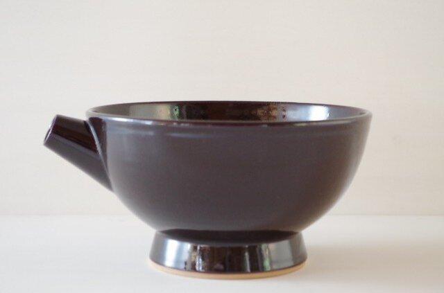 片口・大・黒茶の画像1枚目