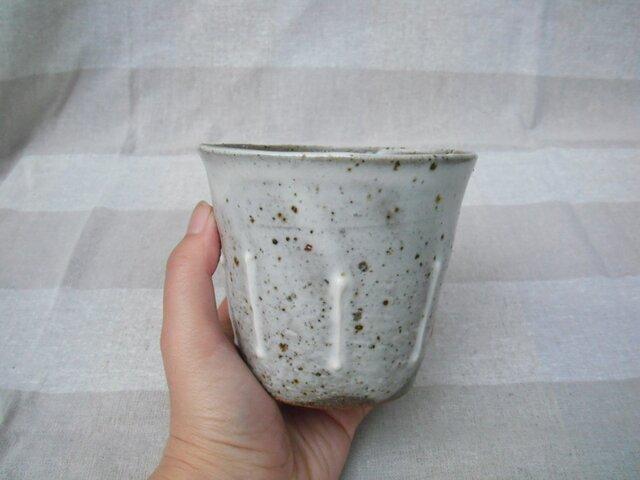 フリーカップ(たて線)の画像1枚目
