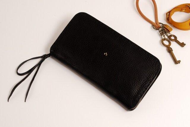 【受注製作】財布 rzw [ブラック]の画像1枚目