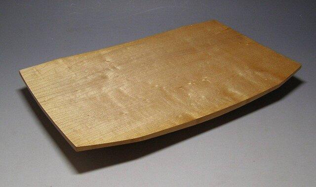 楓玉杢造り四方盛り器の画像1枚目