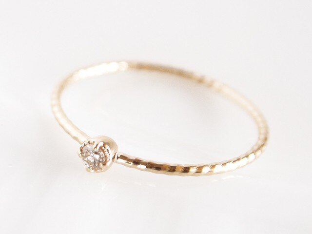 K10 Classical Diamond Ringの画像1枚目