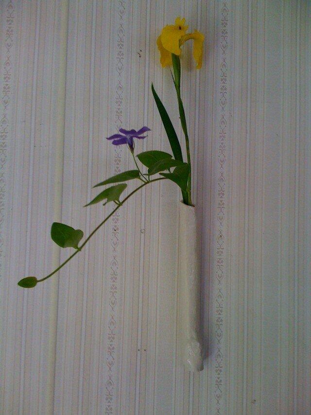 木のみシリーズ-掛け花の画像1枚目