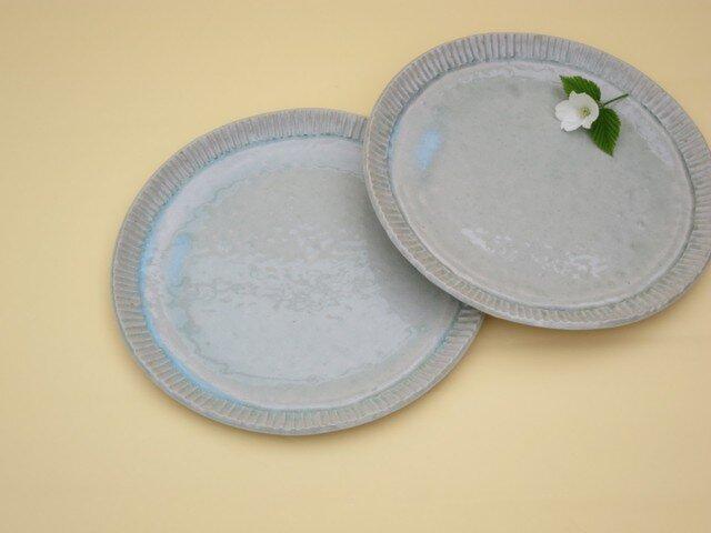 ぎざぎざふちのミート皿の画像1枚目