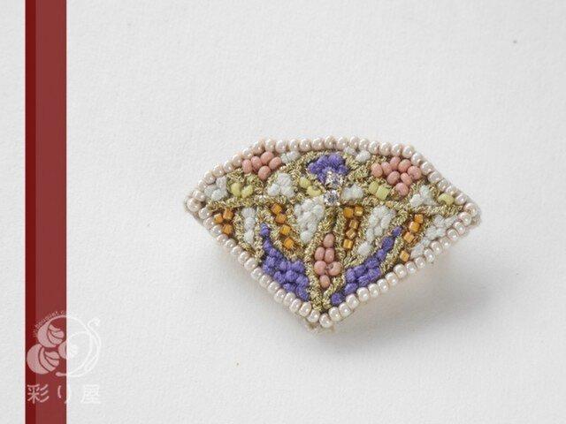 糸とビーズの宝石(ブリリアント・カット)の画像1枚目