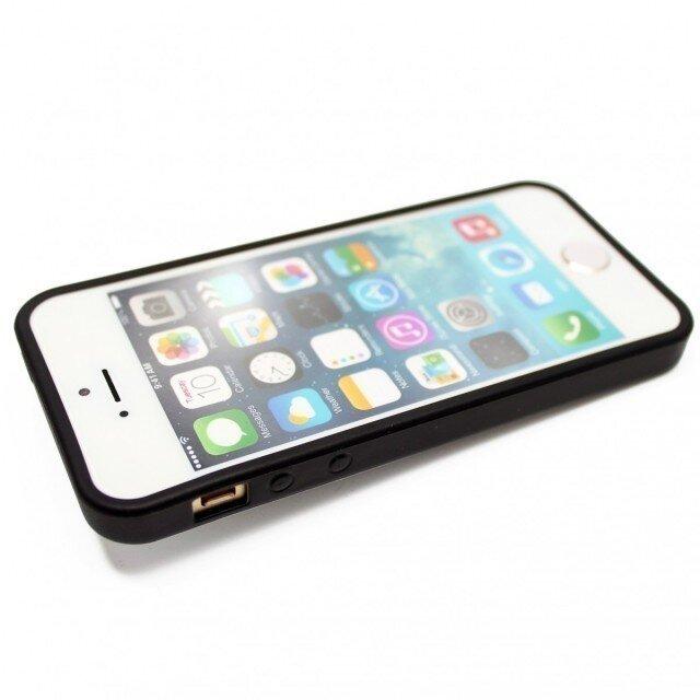 fec3f87f46 iphone5/iphone5s用/iphoneSE 軽量レザーケース(オフホワイト×ブラック)apple