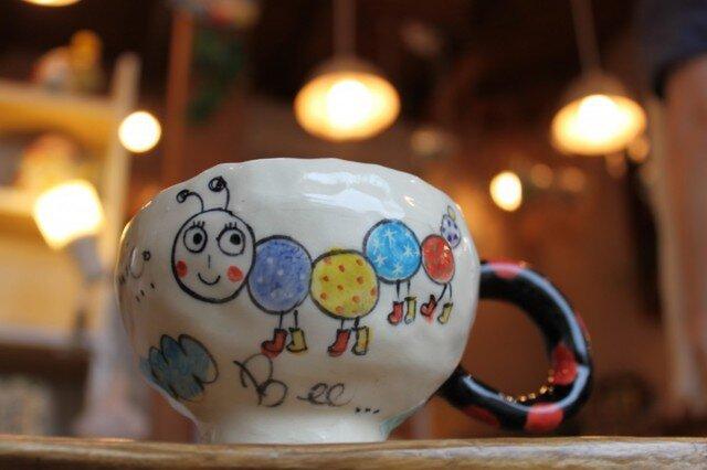 にぎやかマグカップの画像1枚目