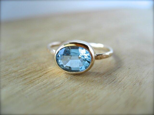 Santa Maria Aquamarine Ringの画像1枚目
