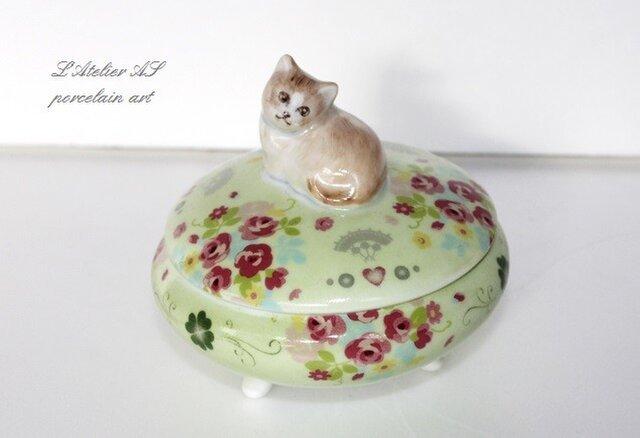 猫の小物入れの画像1枚目