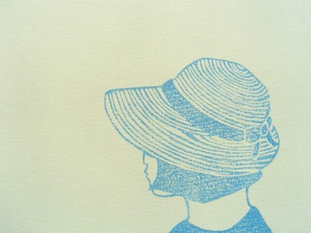 ポストカード(2枚)  帽子の画像1枚目