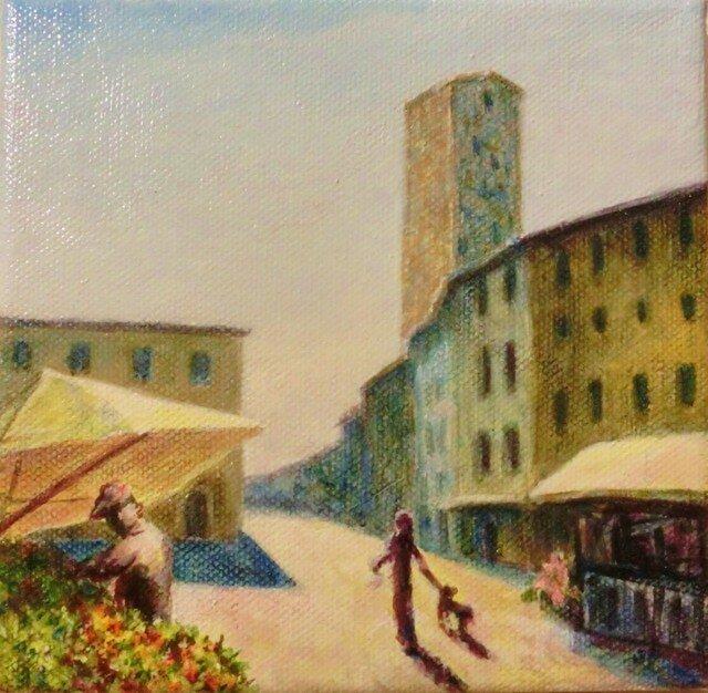 絵画S.ピエリーノ広場(フィレンツェ)の画像1枚目