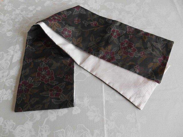 黒大島のスカーフの画像1枚目