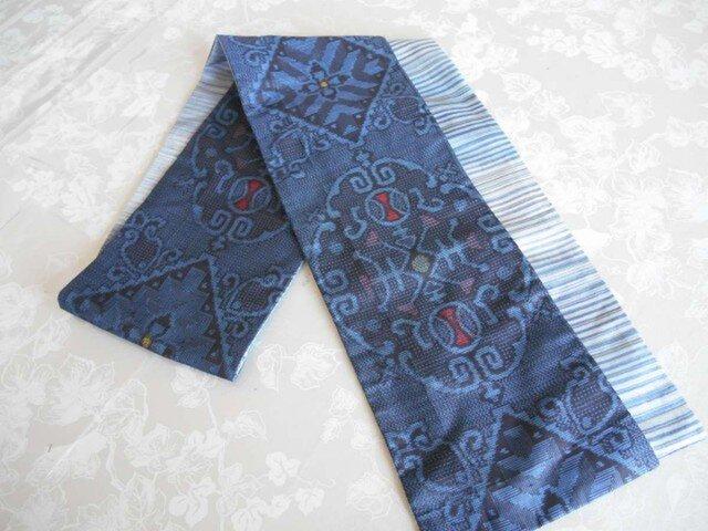 藍大島のスカーフの画像1枚目