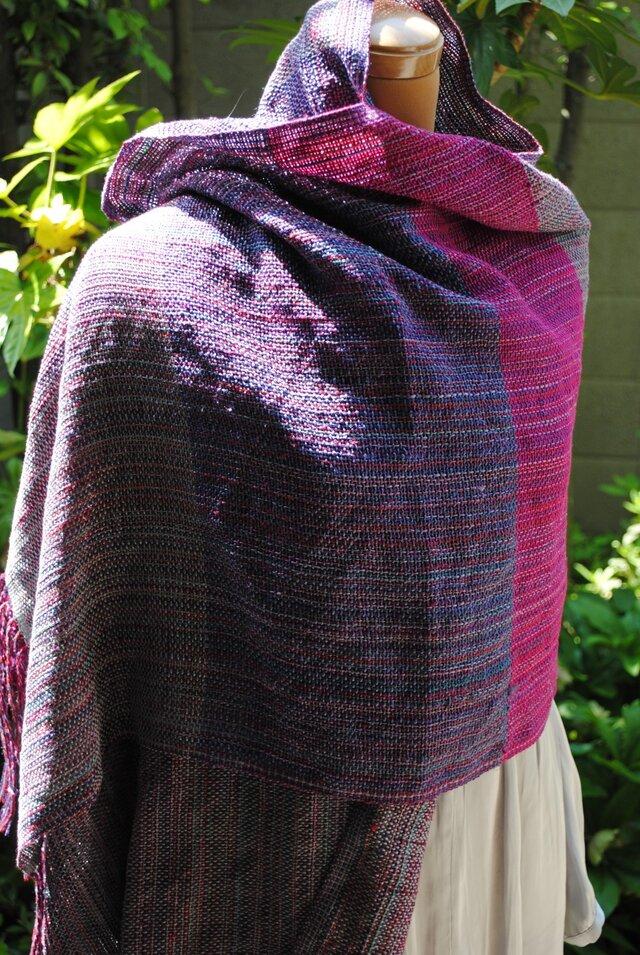 シルク手織ストールSの画像1枚目