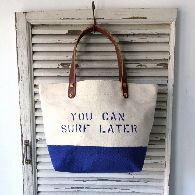 お好きな文字を鞄に如何ですか?ペイントボトムランチトート0172の画像1枚目