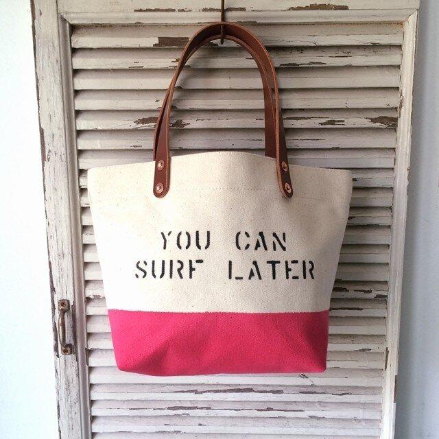 お好きな文字を鞄に如何ですか?ペイントボトムランチトート0173の画像1枚目