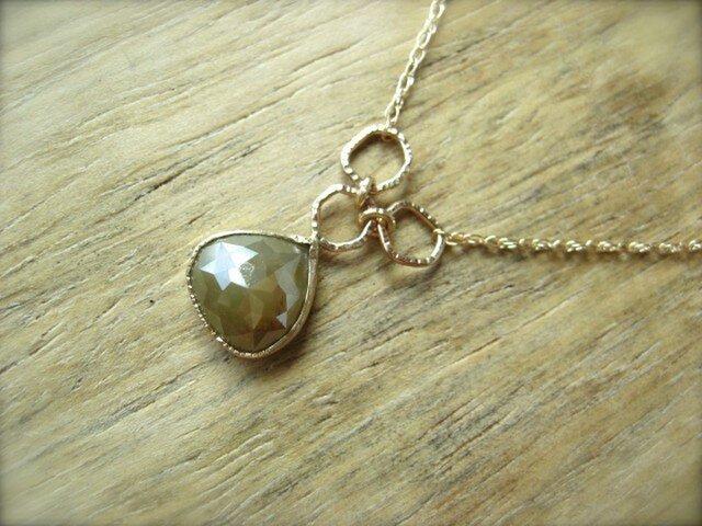 Chestnut Diamond Pendantの画像1枚目