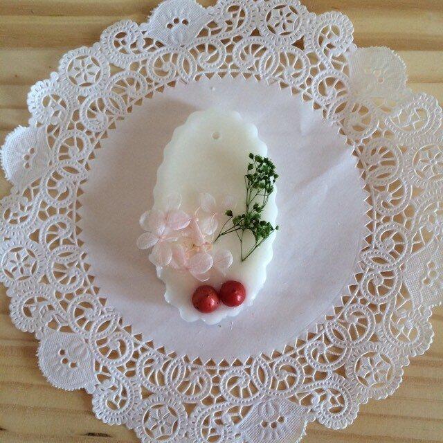 【メッセージ入れ可能】爽やかマリンの香り アロマワックスサシェの画像1枚目
