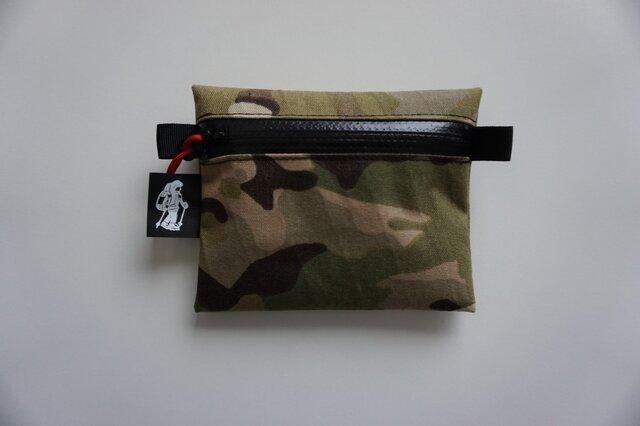 flat pouch S x-pac MultiCamの画像1枚目