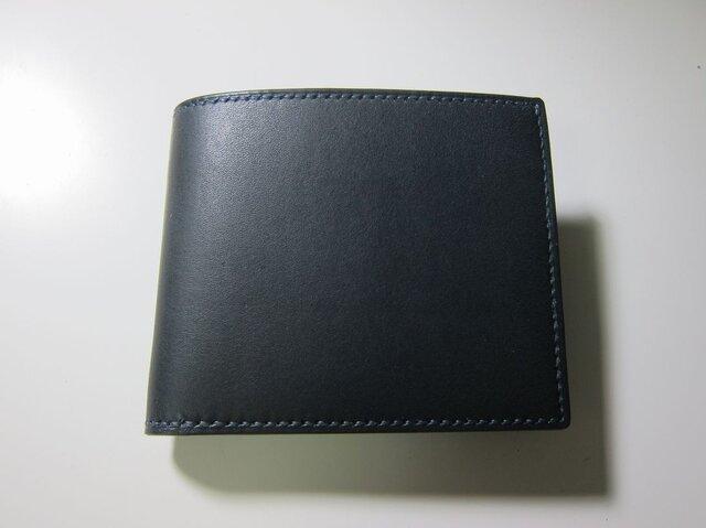 二つ折り財布(ネイビー)の画像1枚目