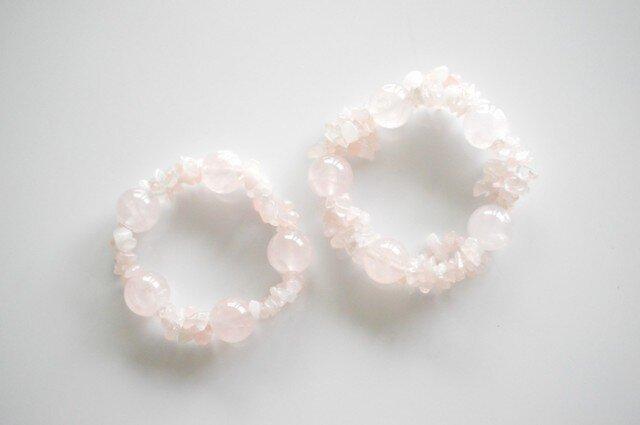 Rose Quartz Braceletの画像1枚目