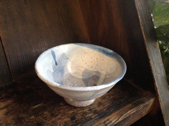 雲がらの茶碗の画像1枚目